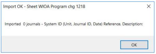 import zero journals